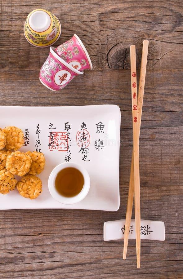 日本式快餐 免版税库存图片