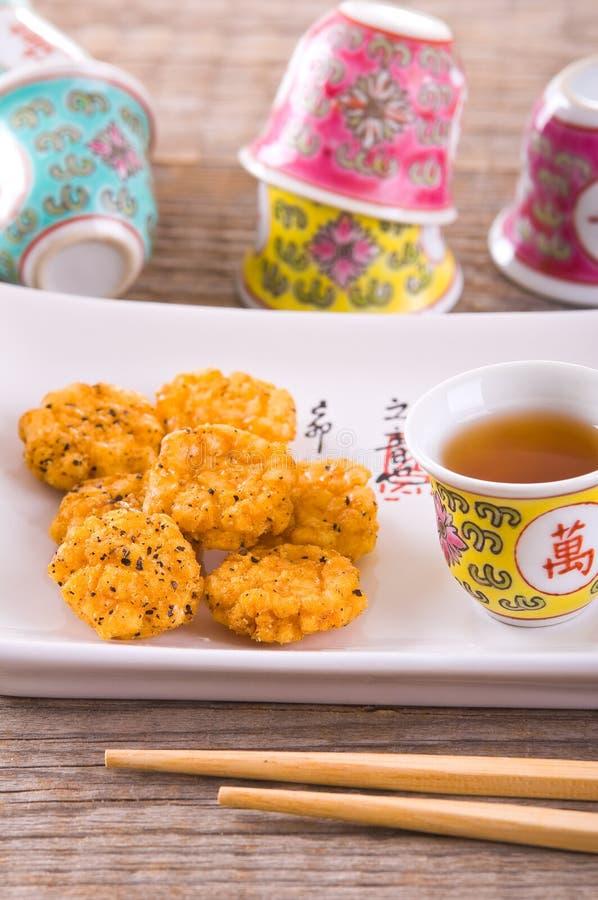 日本式快餐 免版税库存照片