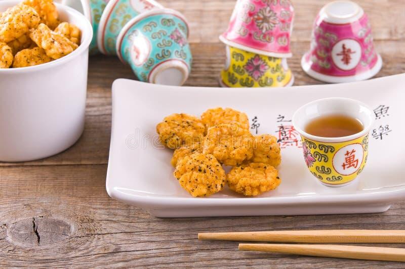 日本式快餐 库存图片