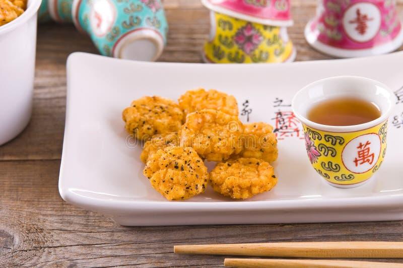 日本式快餐 免版税图库摄影