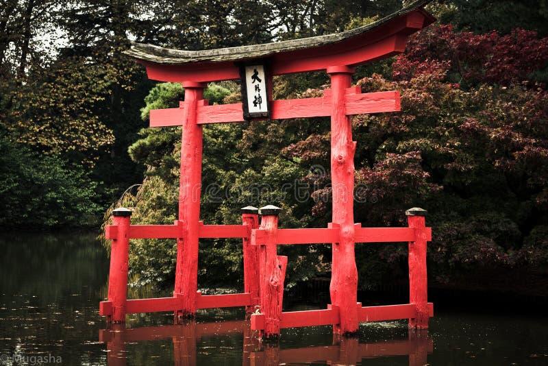 日本式纽约植物园 库存照片