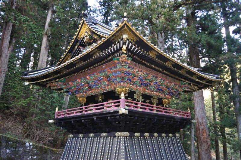 日本日光toshogu 免版税库存图片