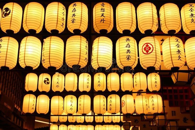 日本灯笼。 免版税库存照片