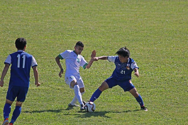 日本球员 免版税库存照片