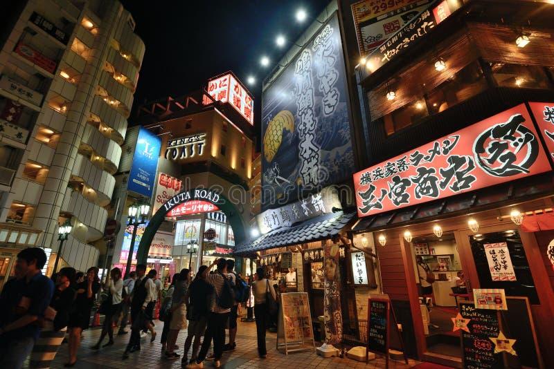 日本神户街视图 免版税库存照片