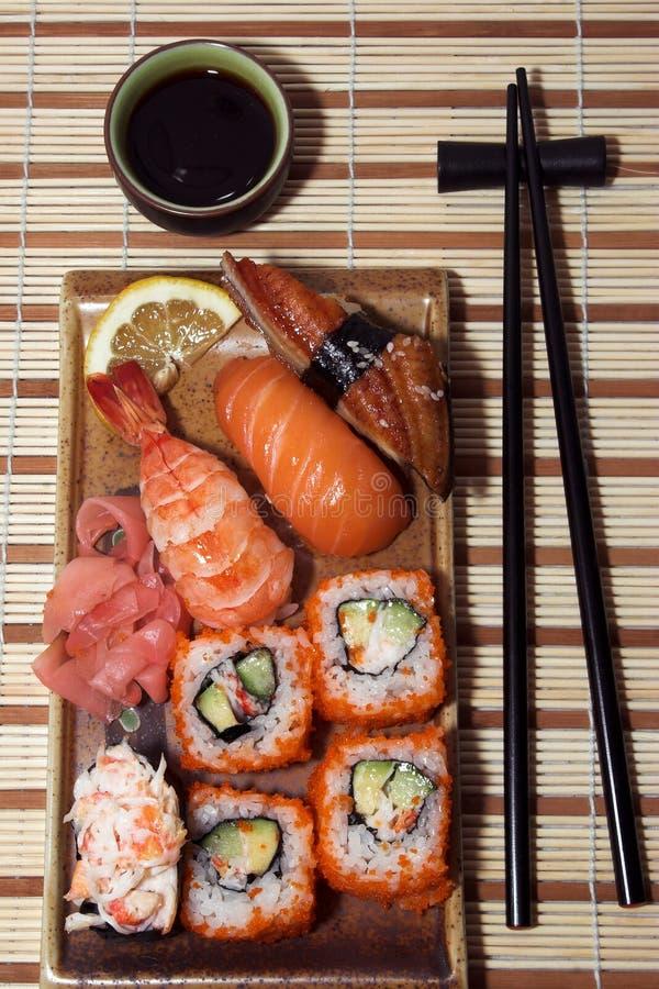 日本膳食国民 库存照片