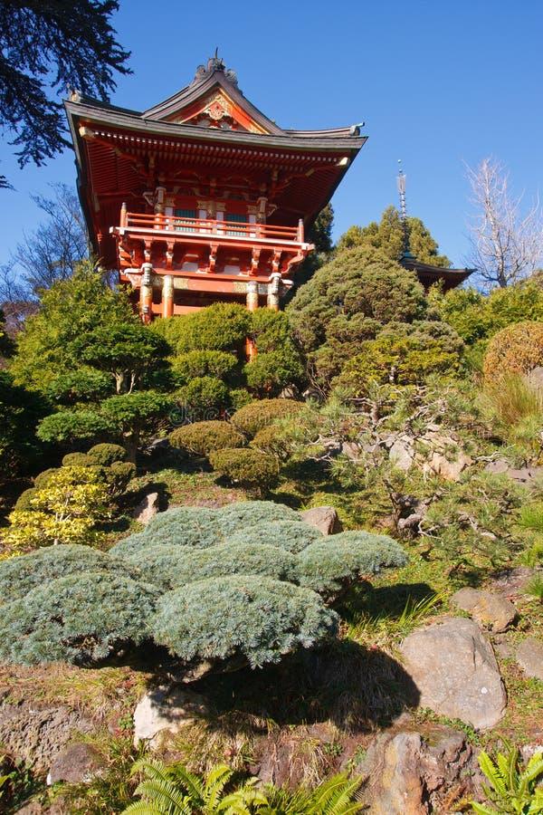 日本茶室 免版税库存图片