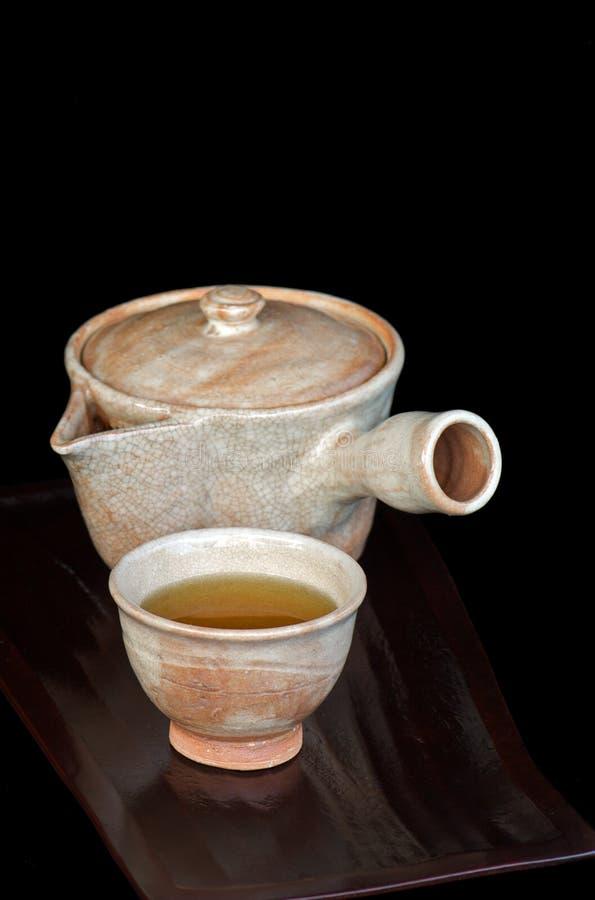日本茶 库存图片