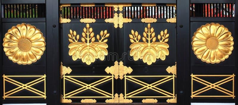 日本被称呼的门 库存图片