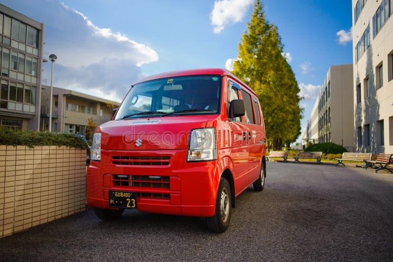 日本过帐送货车 图库摄影