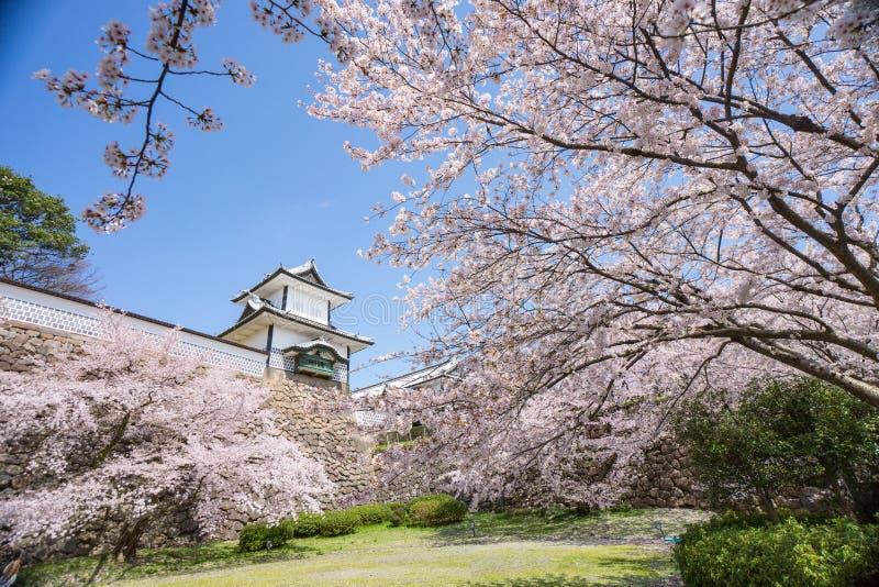 日本金泽城 免版税库存照片