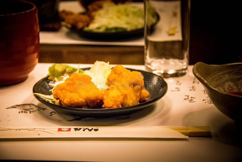 日本食物的诱惑 库存图片