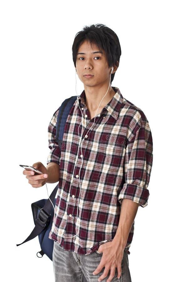 日本高中学生 库存图片