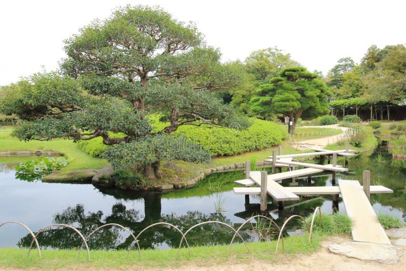 日本:后乐园 库存照片