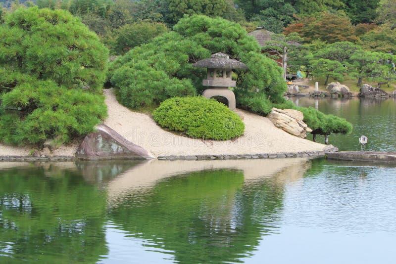 日本:后乐园 免版税库存图片