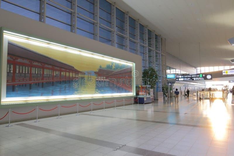 日本:广岛机场 图库摄影