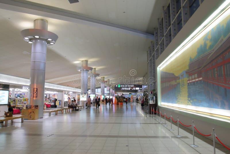 日本:广岛机场 免版税库存照片