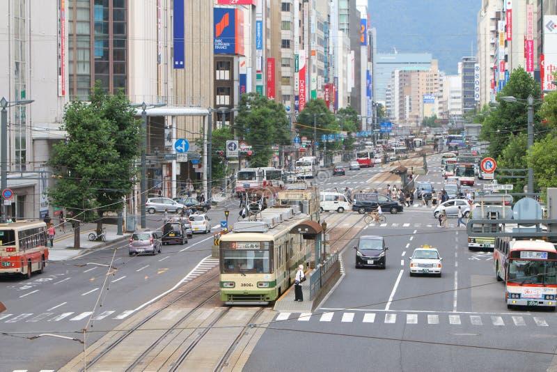 日本:广岛 免版税图库摄影