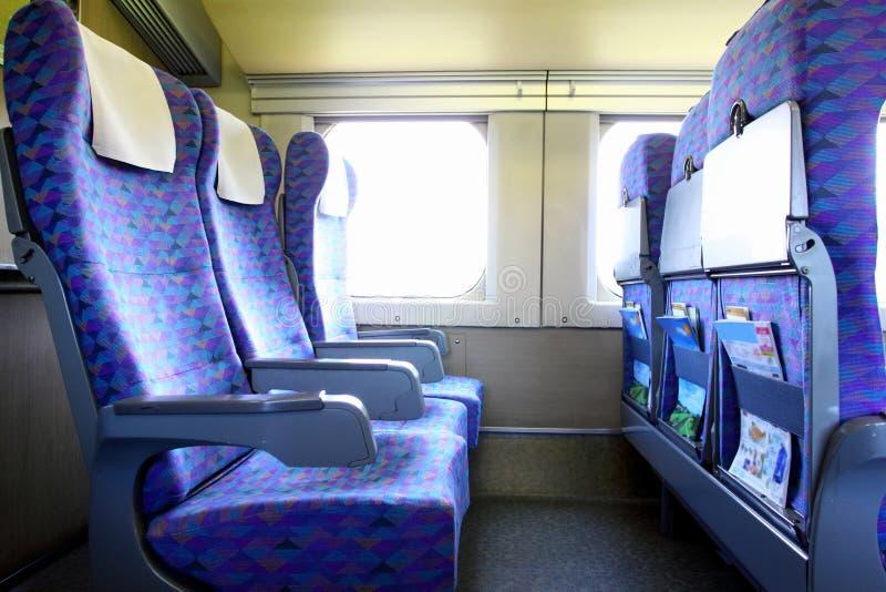 日本: Shinkansen 免版税图库摄影