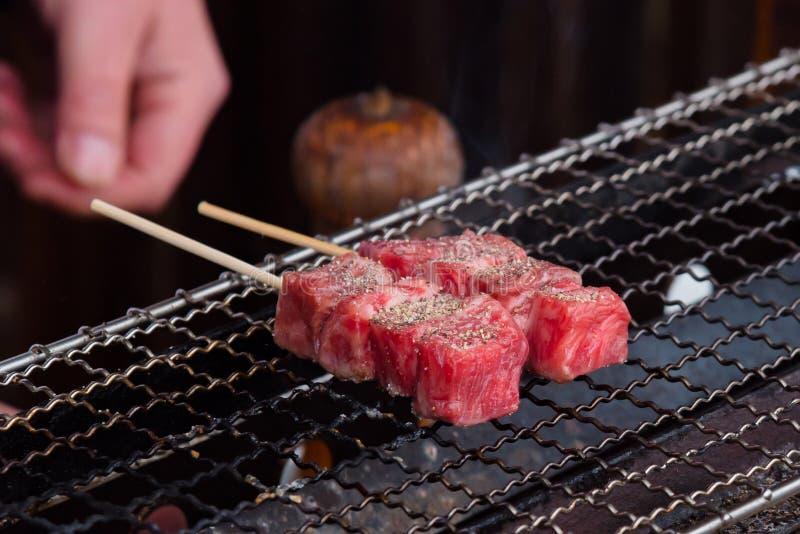 日本A5牛肉 免版税库存照片