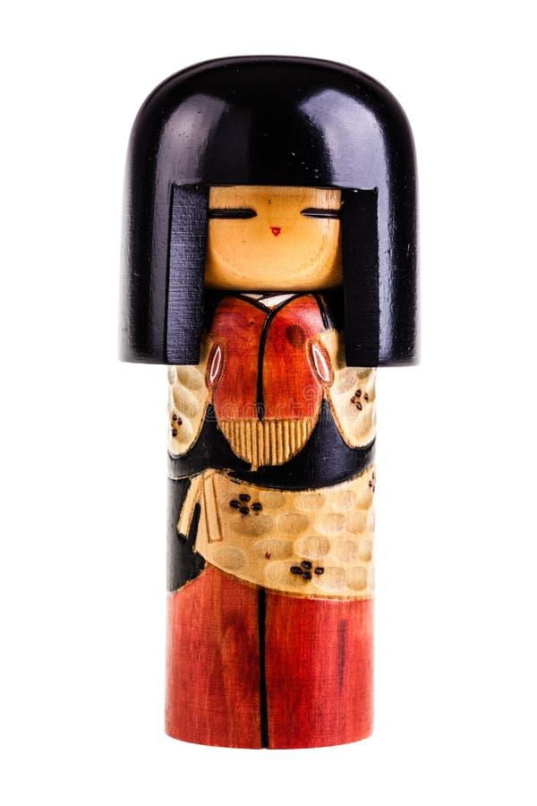 日本kokeshi玩偶 免版税库存图片