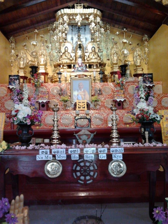 日本Saama viharaya, Rumassela,加勒,斯里兰卡 库存图片