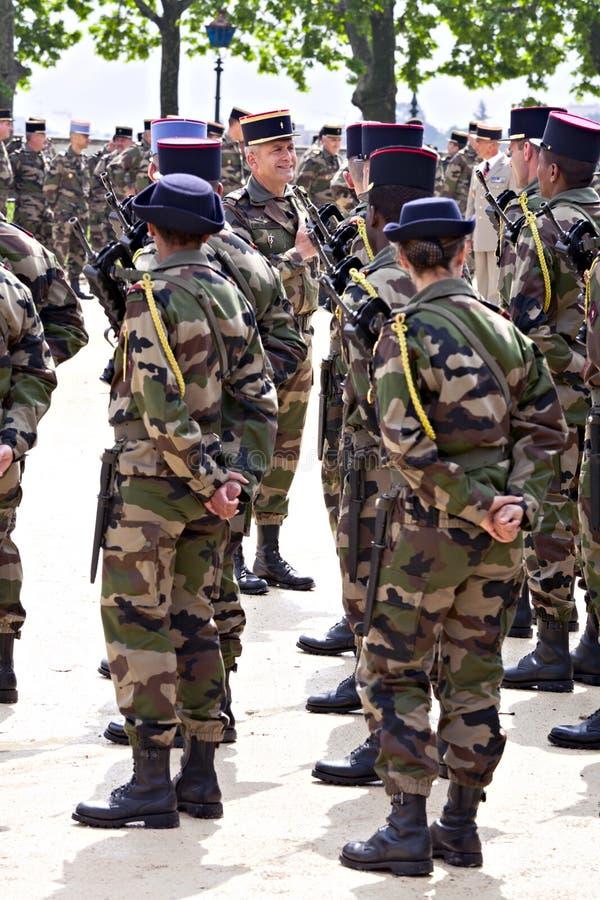 日欧洲法国蒙彼利埃游行胜利 免版税库存照片