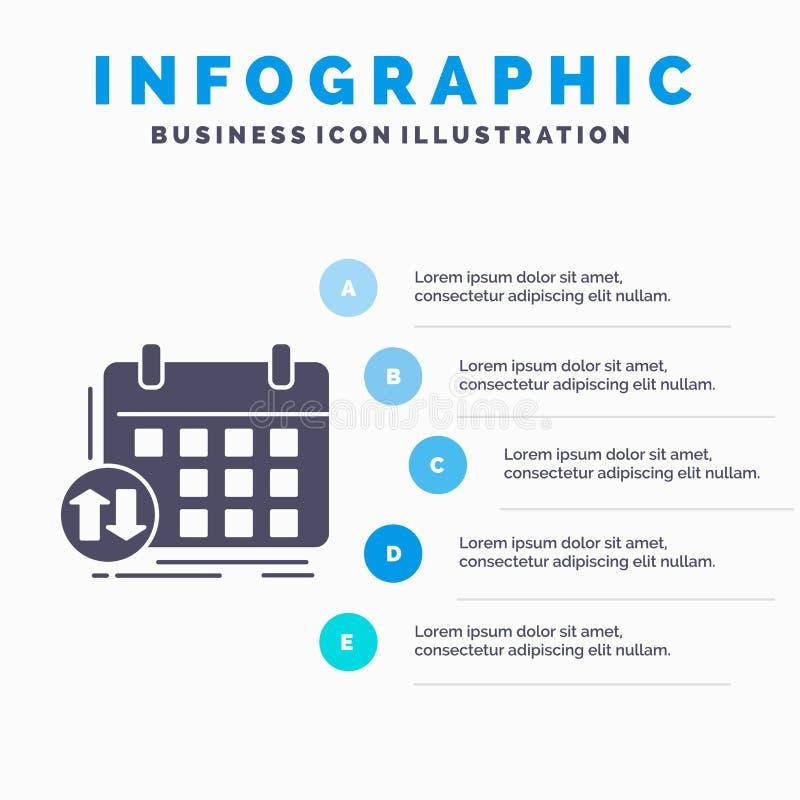 日程表、类、时间表、任命、事件Infographics模板网站的和介绍 r 向量例证