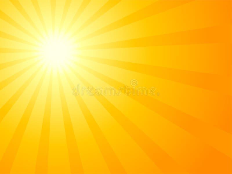 日落向量 皇族释放例证