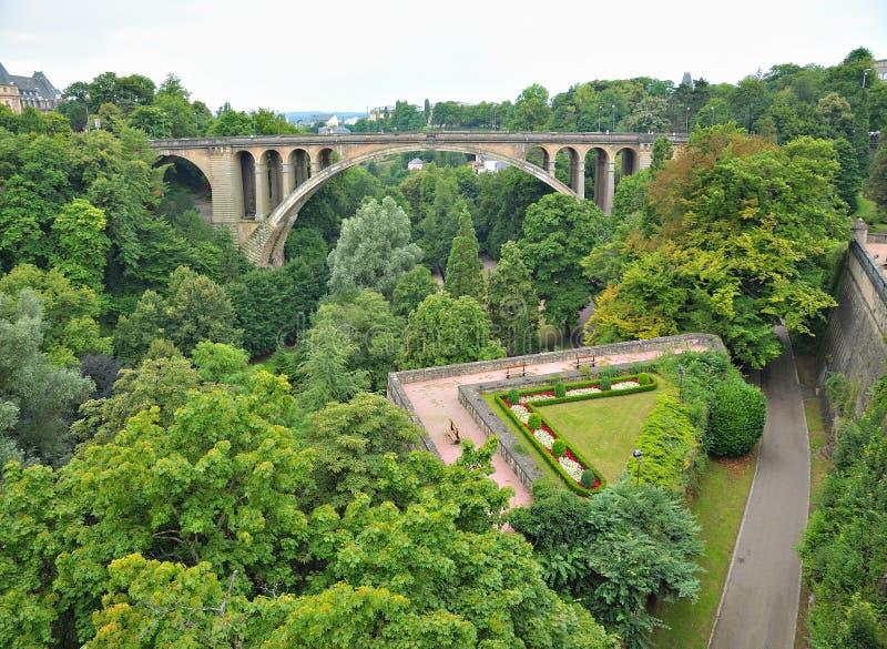 卢森堡在秋天 免版税图库摄影