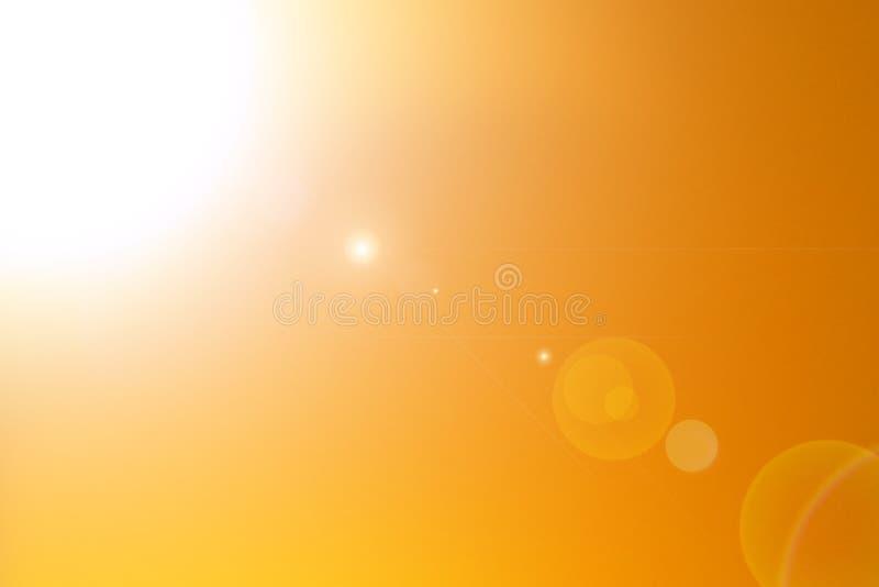 日落抽象五颜六色的被弄脏的背景 库存图片