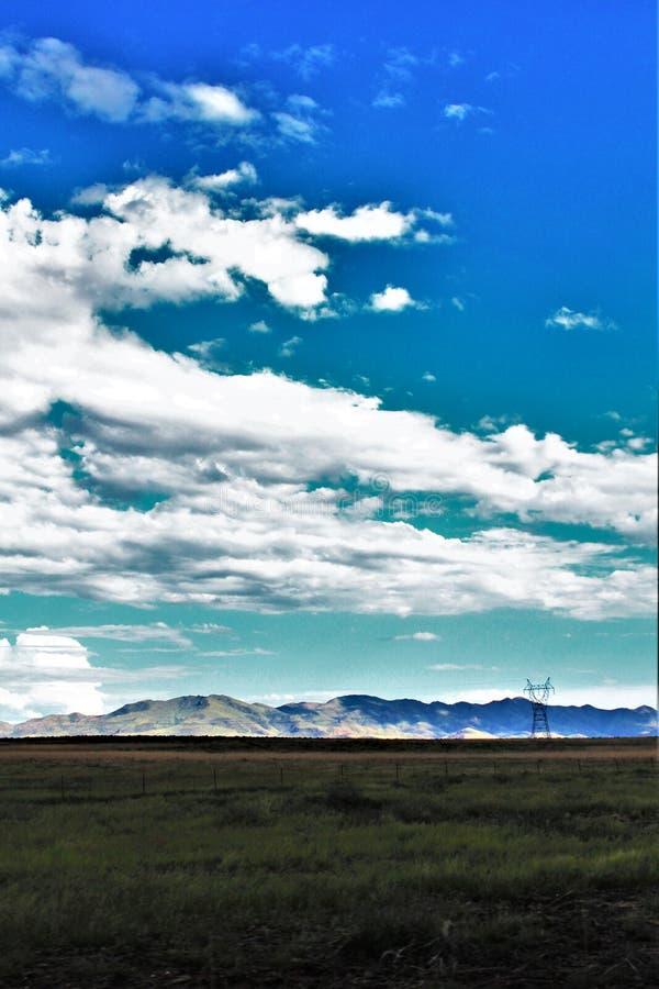 日落点,黑峡谷城市,亚瓦派县,亚利桑那,美国 库存图片
