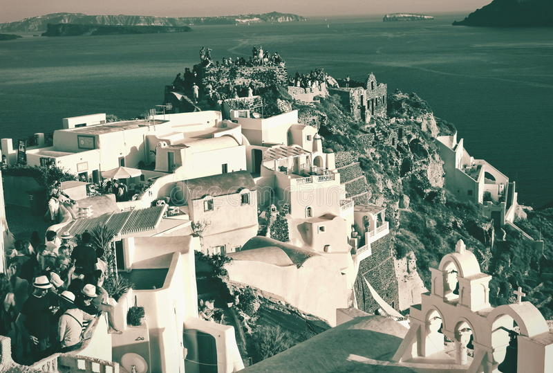 Download 日落等待 编辑类库存图片. 图片 包括有 峭壁, 海运, 全景, 图象, beautifuler, 希腊 - 61622579