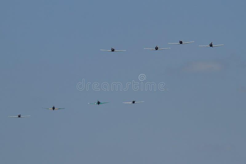 日语八架的战斗机 库存照片