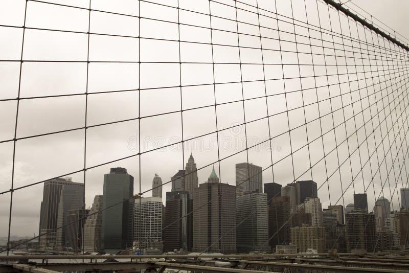 日阴沉的纽约 免版税库存图片