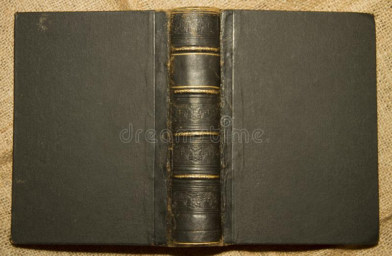 旧书从老日期 库存图片