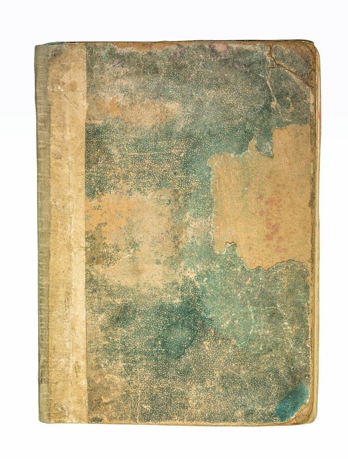 旧书盖子 免版税库存图片