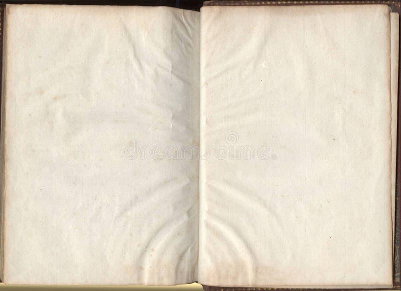 旧书纸纹理 免版税库存照片