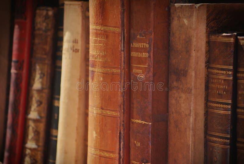 旧书 库存照片