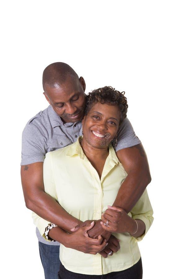 更旧夫妇 免版税库存照片