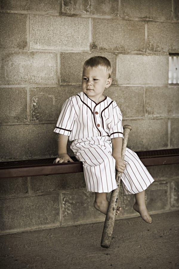 旧时棒球 库存照片