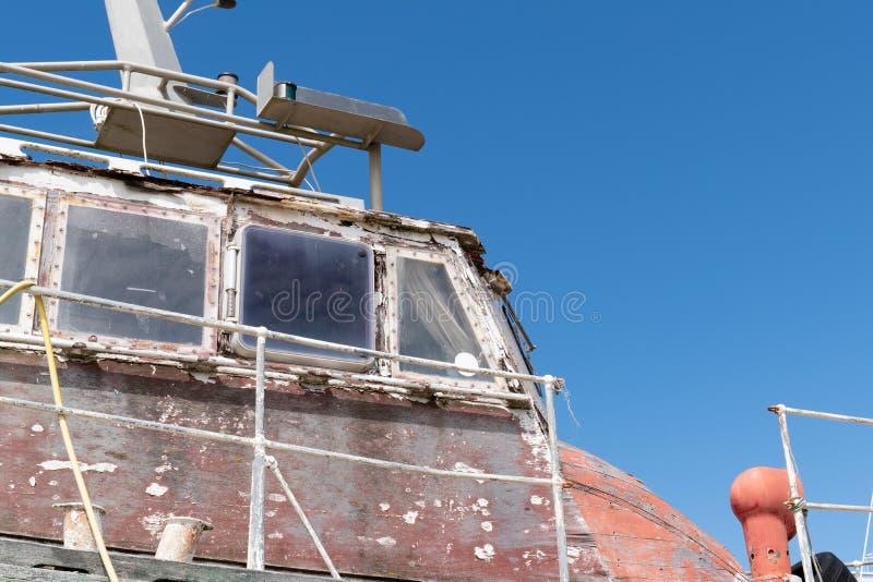 旧木旧船 免版税库存图片