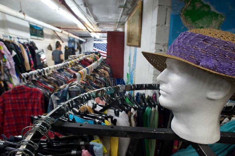 旧货店 库存照片