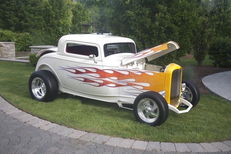 旧车改装的高速马力汽车什么 库存图片