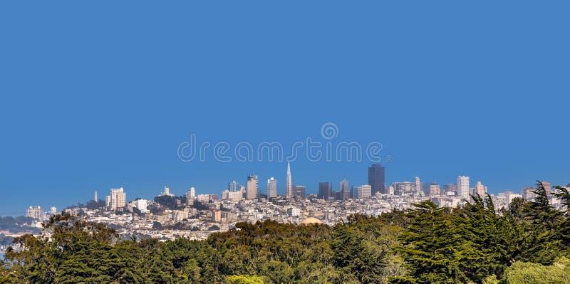 旧金山天际线 免版税库存图片