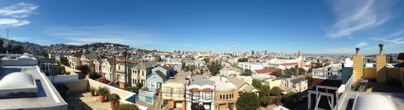 旧金山屋顶 库存照片