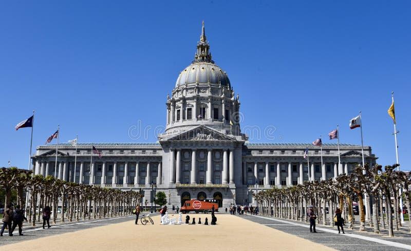 旧金山市中心 库存照片