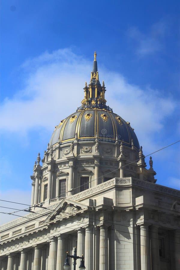旧金山市政厅 免版税库存照片