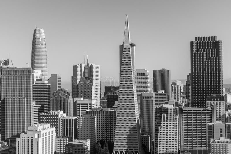 旧金山市 免版税库存照片