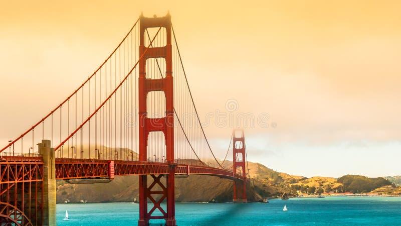 旧金山桥梁 免版税图库摄影